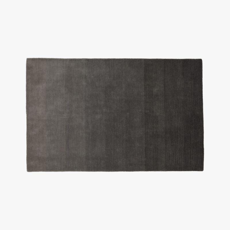 Ombre Grey Rug 5x8  Reviews  CB2