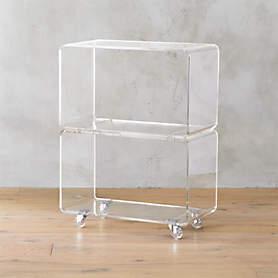 https www cb2 com peekaboo acrylic coffee table s103005