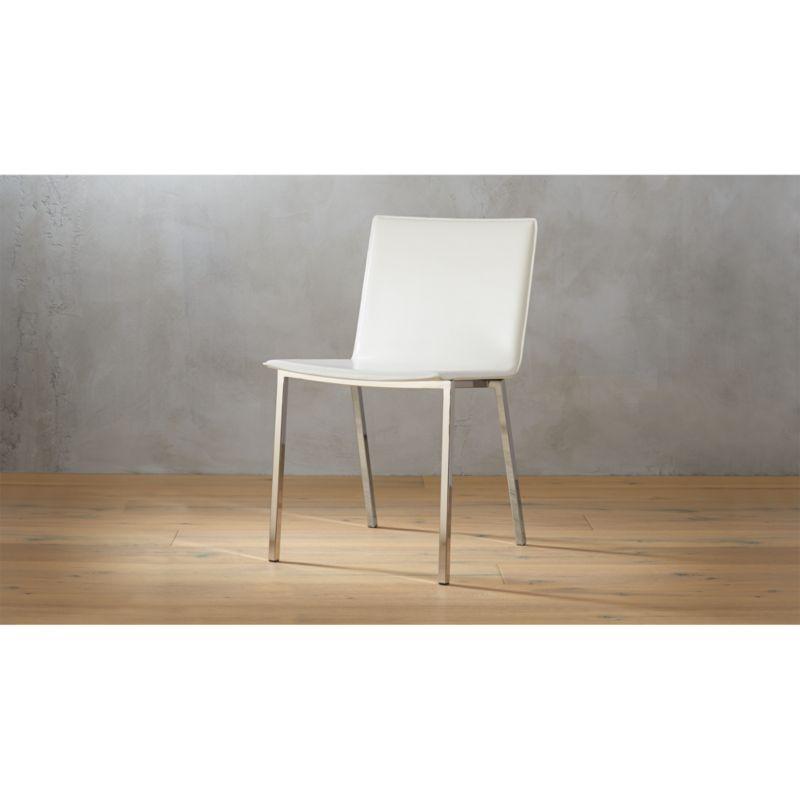 Phoenix Ivory Chair  Reviews  CB2