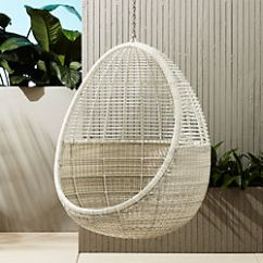 Al Fresco St Tropez Hanging Chair And Cushion Ergonomic Tips Best Selling Outdoor Cb2 Pod