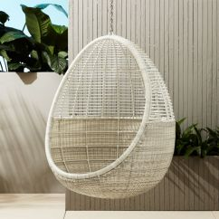 Hanging Chairs Garden Furniture Childs Rattan Chair Pod Reviews Cb2