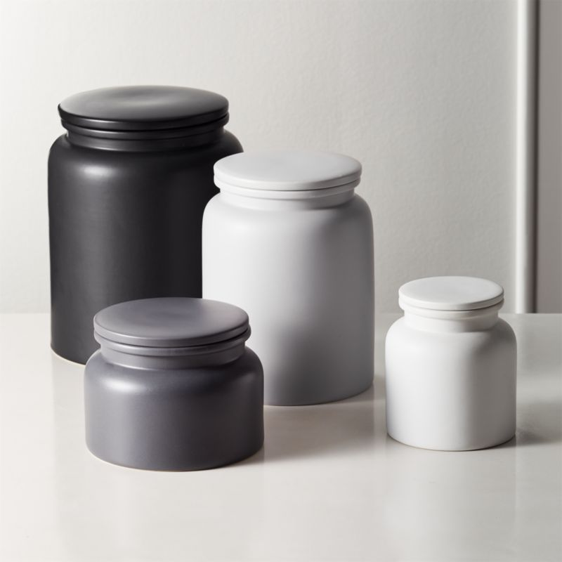kitchen canister square faucet prep canisters
