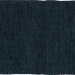 Blue Kitchen Rugs Cabinet Boxes Modern Cb2 Quitting Time Indigo Rug