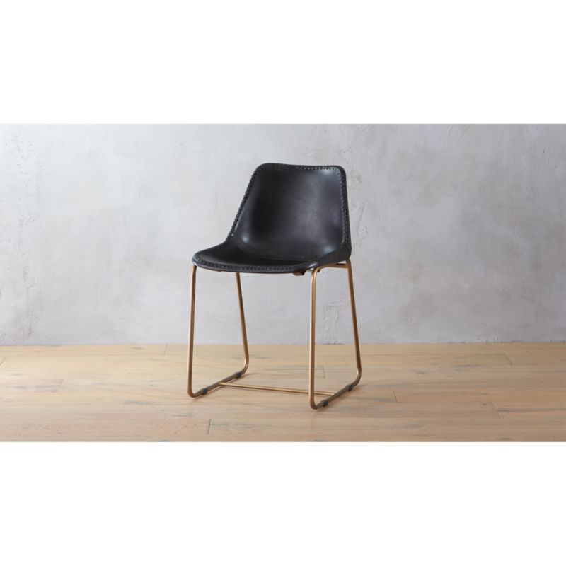 saddle seat chairs reviews upholstered arm chair roadhouse black leather cb2 roadhouseblackleatherdiningchairshs16 1x1