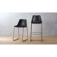 Chair Stool Black Ergonomic For Posture Roadhouse Leather Bar Stools Cb2 Roadhouseblacklthrcounterstool24inw30inchs16 16x9
