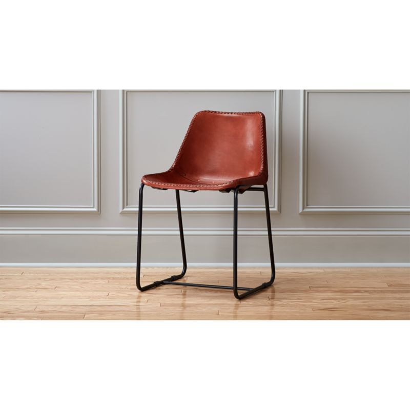saddle seat chairs reviews spinlife lift roadhouse leather chair cb2 roadhouselthrdngchrs15
