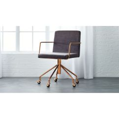 Desk Chair Ideas S Bent And Brothers Rocking 1867 Rouka Velvet Office Reviews Cb2 Roukaofficechairshf16 1x1