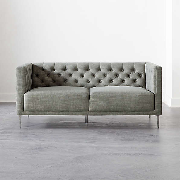 tufted sofas cb2