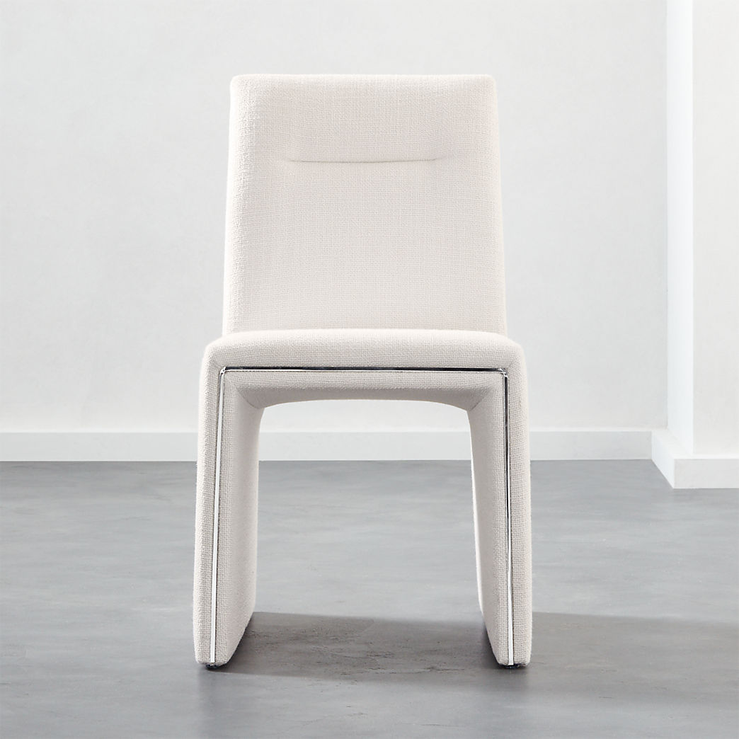 White Wooden Dining Chairs Modern Dining Room Furniture Kitchen Furniture Cb2
