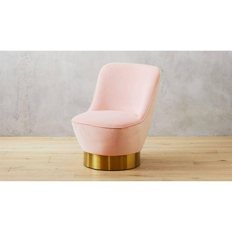 Simone Blush Chair  Reviews  CB2