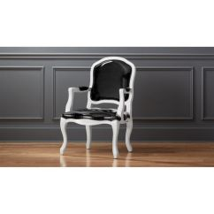 Chair Design Patent A Stick Around Black Leather Reviews Cb2