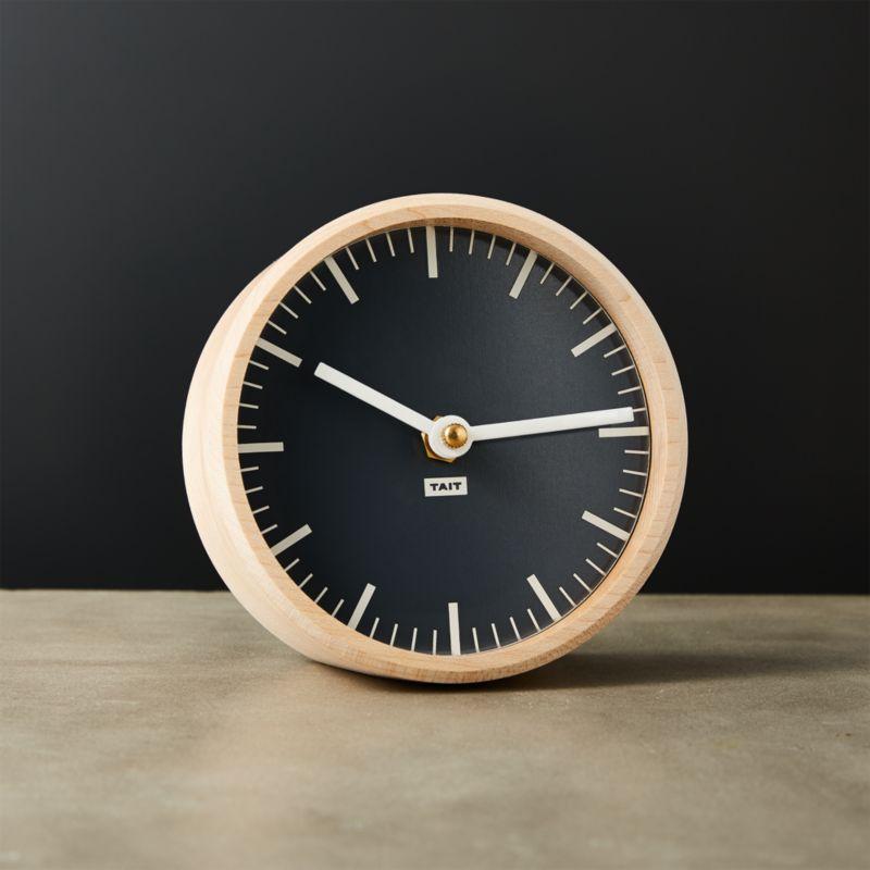 tait round desk clock