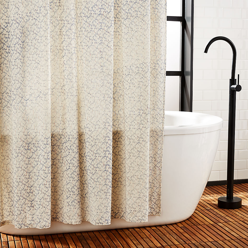 Bathroom Shower Curtain Unique And Modern Shower Curtains Cb2