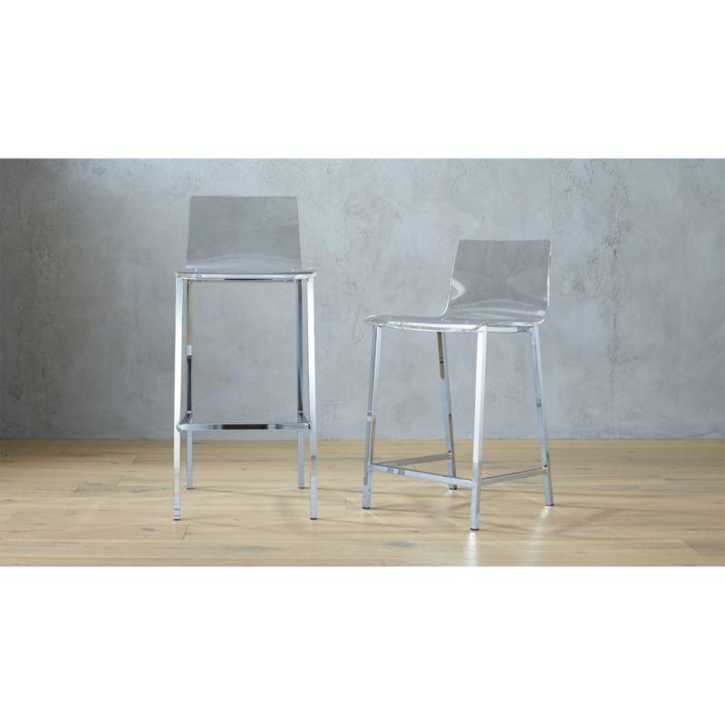 ghost chair bar stool peacock wicker vapor acrylic stools cb2 vaporbarstool24in36s15 16x9