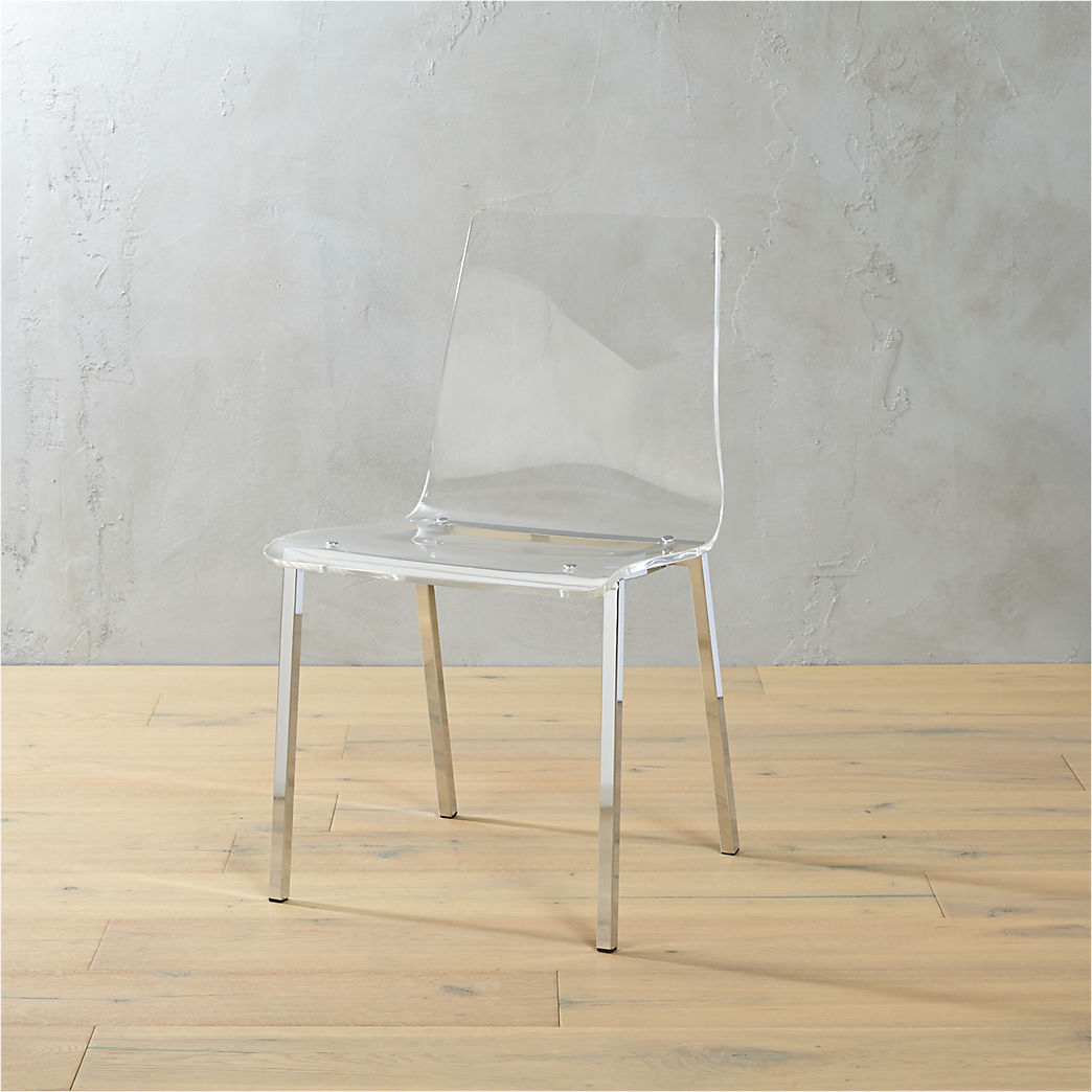 Plexiglass Chairs Acrylic Furniture Cb2