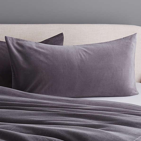 king pillow shams cb2