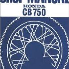 1975 Cb750 Wiring Diagram Whirlpool Gold Refrigerator Cb750k Manuals - Cb 350 750 Four Ig