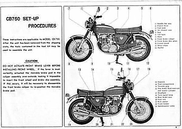 Honda CB750 Sandcast Only Owner's Club