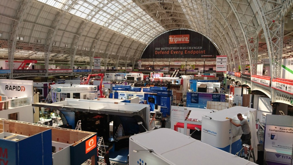 Olympia getting ready for Infosec 2016