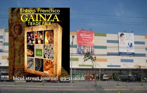 Bishop Gainza Trade Fair Opens in Naga City 9/12