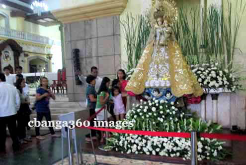 Our Lady of the Rosary of Manaoag Visits Albay Province