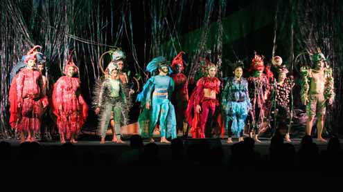 The Legend of Handiong as a Musical Production Debuts in Albay Ibalong Festival
