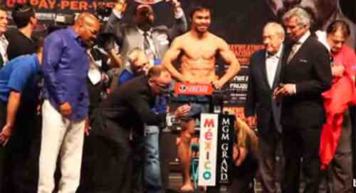 Malacanang lauds Pacquiao despite losing the bout with Mayweather Jr.