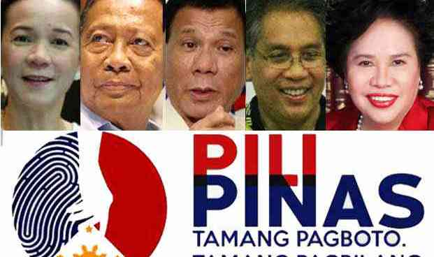 Read text only version of the 3rd presidential candidates' Pilipinas Debate 2016