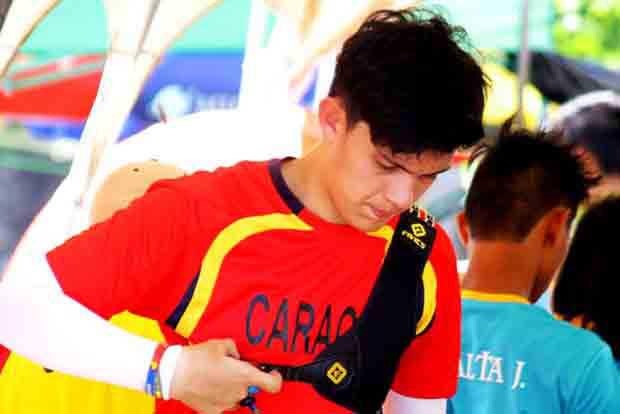 "An ""Arrowman"" gets noticed in Albay hosting of Palarong Pambansa 2016"