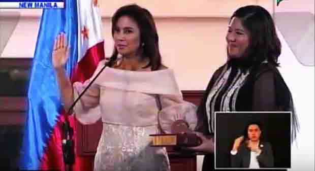 Inaugural speech of Vice President Leni Robredo