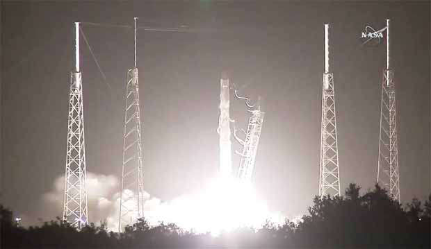 NASA, SpaceX launch successful resupply cargo mission to ISS