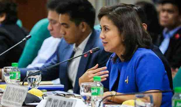 VP Leni Robredo presents lean budget, 14.28 per cent lower than that of 2016