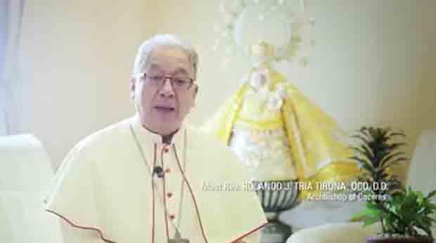 Archbishop of Caceres, Rolando Tria Tirona,