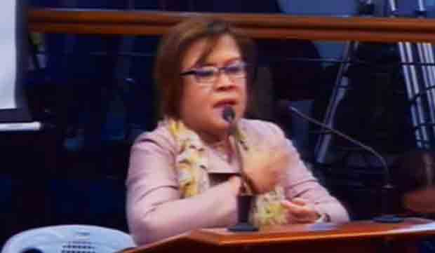 De Lima, 5 others under immigration lookout bulletin order from Justice Department