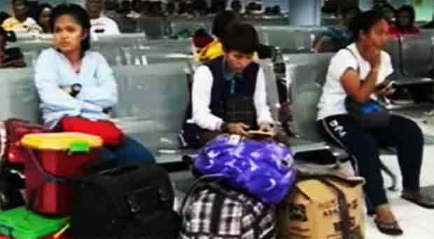 Bicol gears for Tropical Storm 'Karen' as stranded passengers increase