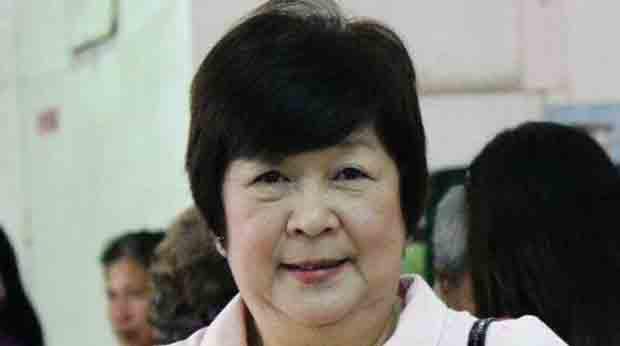 Evelyn Yu, 3-term mayor of Calabanga, 71