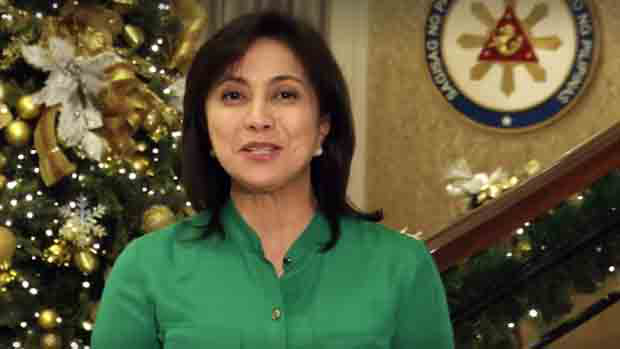 Robredo urges Pinoys to be humble, give love, bring hope and unity