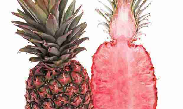 Pink pineapples for your fruit salad, anyone?