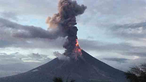 Watch Video The Fury of Mayon Volcano