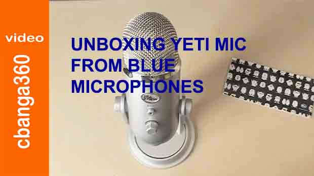 Watch unboxing Yeti usb mic from Blue Microphones