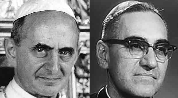 Pope Francis to canonize Paul VI, Cardinal Romero today
