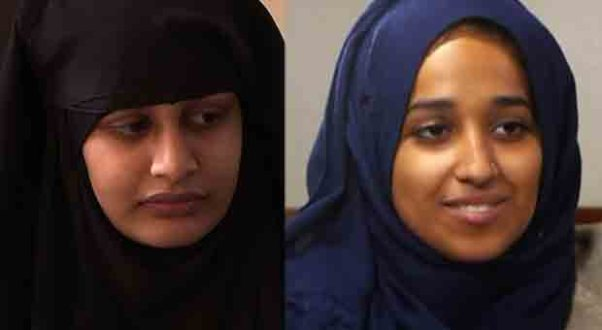 These ISIS brides. and many more, wants to come home: Left, Shamima Begum and Hoda Muthana, right.