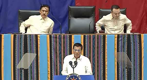 President Rodrigo Duterte delivers 4rth SONA.