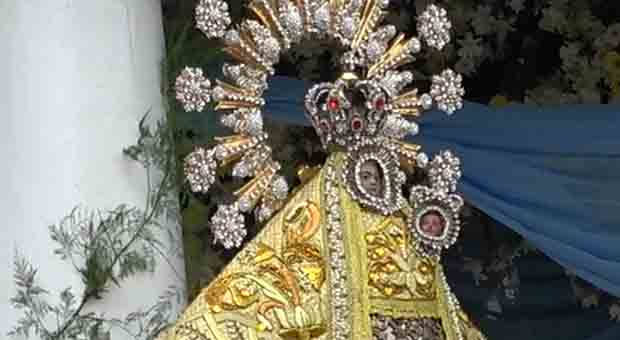 The image of the Virgin of Penafrancia