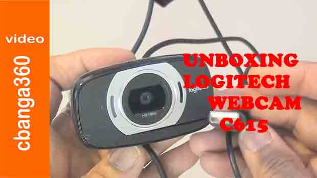 Unboxing of Logitech c615 HD Webcam