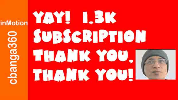 Yay! Finally 1.3K Subs Thank You