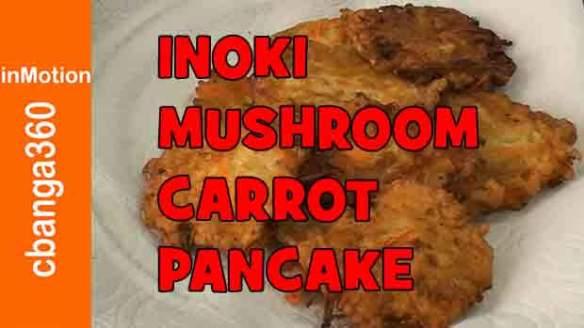 How to make Inoki Mushroom pancake, fritters
