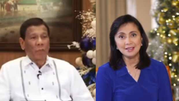 Watch the 2018 Christmas message of President Duterte and VP robredo