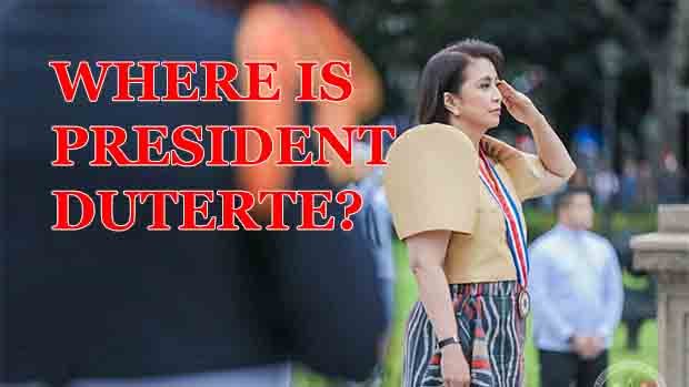 Where was President Rodrigo Duterte on Rizal Day