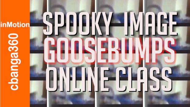 Spooky Image Goosebumps Online Class